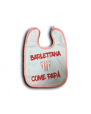 BAVETTA UFFICIALE BARLETTANA COME PAPA  -BARLETTA