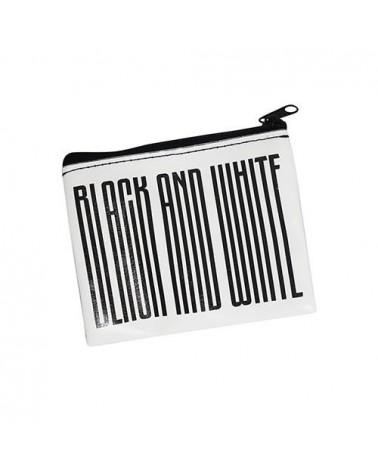 PORTAMONETE BLACK AND WHITE UFFICIALE - JUVENTUS