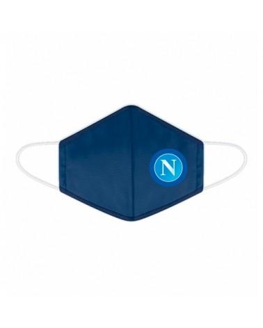 MASCHERINA  3 STRATI COTONE  FILTRO TNT - NAPOLI